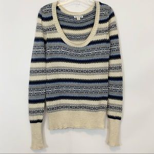 Aphorism for Anthropology Striped Knit Sweater